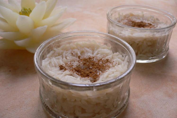 Riz au lait au lait de riz
