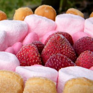 charlotte vanille et ses fraises