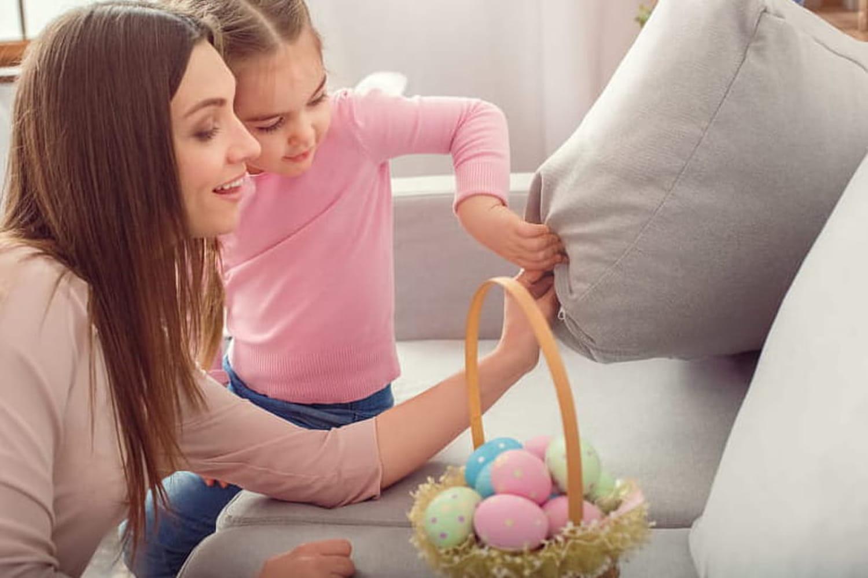 Chasse aux œufs de Pâques: comment l'organiser à la maison?