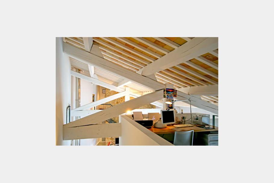 Une mezzanine multifonctions