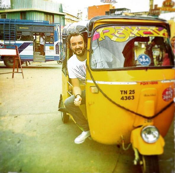 Cyril Lignac, tout roule à Bombay