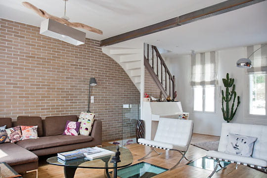 Une maison 1930relookée du sol au plafond