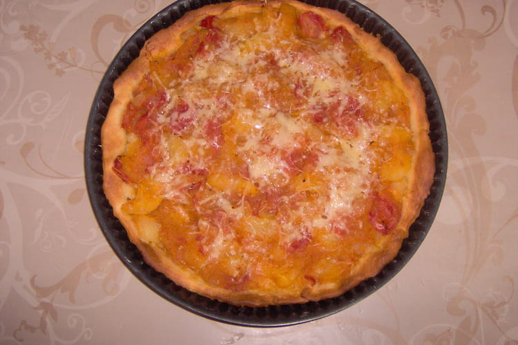 Ratatouille sur pizza