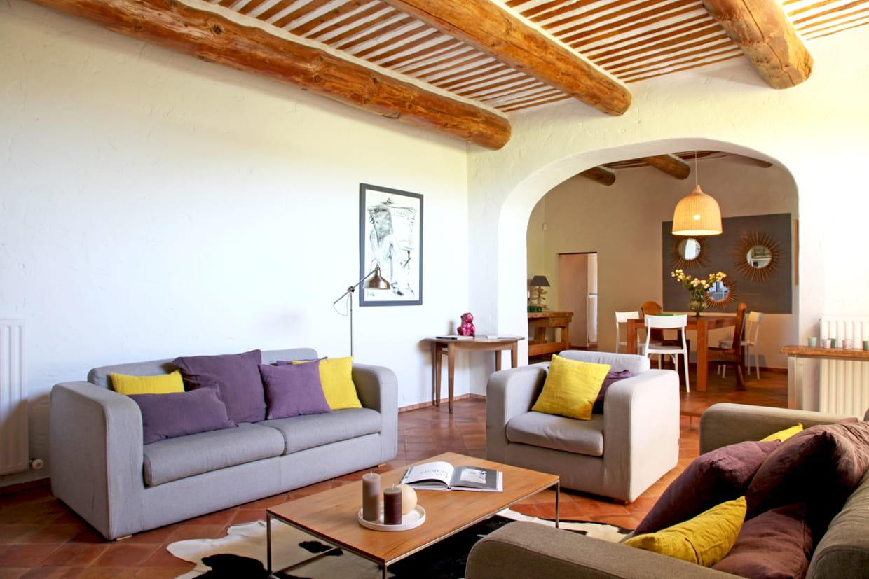 salon en enfilade. Black Bedroom Furniture Sets. Home Design Ideas