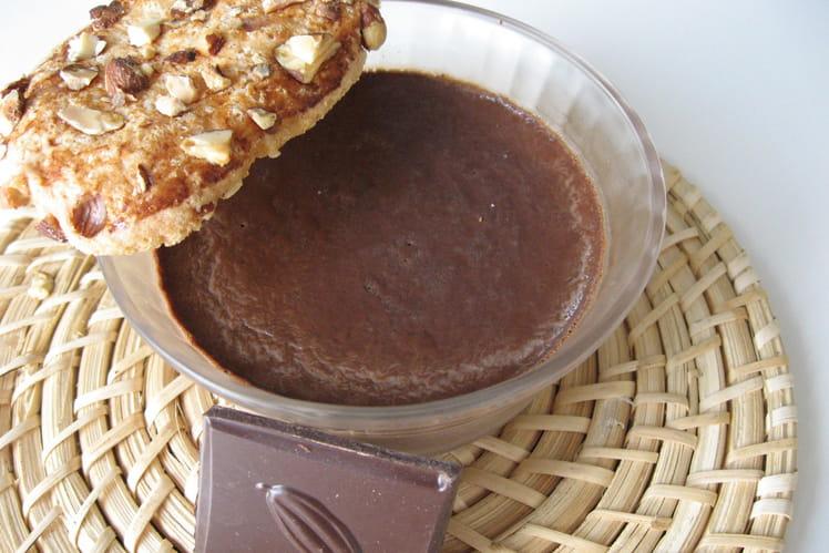 Crèmes au chocolat noir