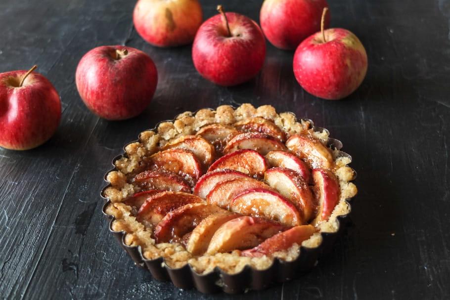 Comment améliorer une tarte aux pommes?