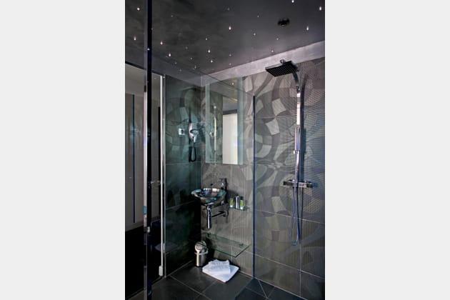 Une douche à la belle étoile