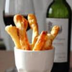 feuilletes aperitifs au parmesan