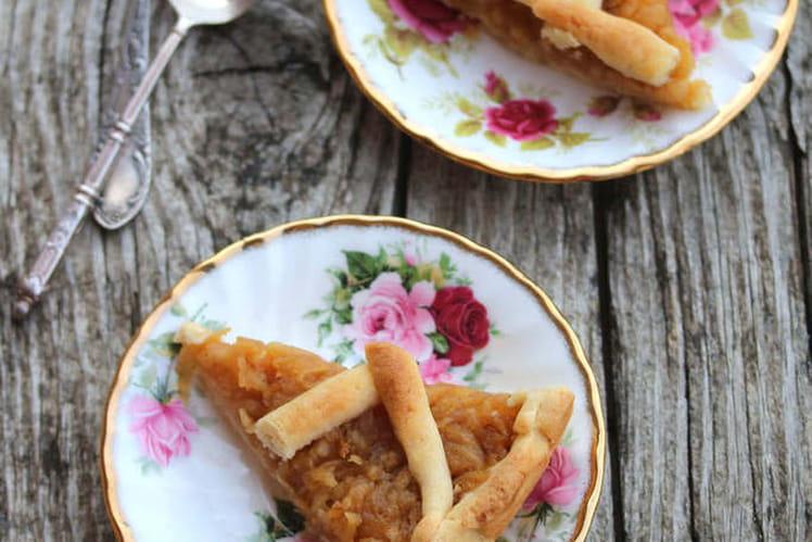 Gâteau aux pommes polonais - Szarlotka