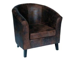 fauteuil 'walnut' de cocktail scandinave