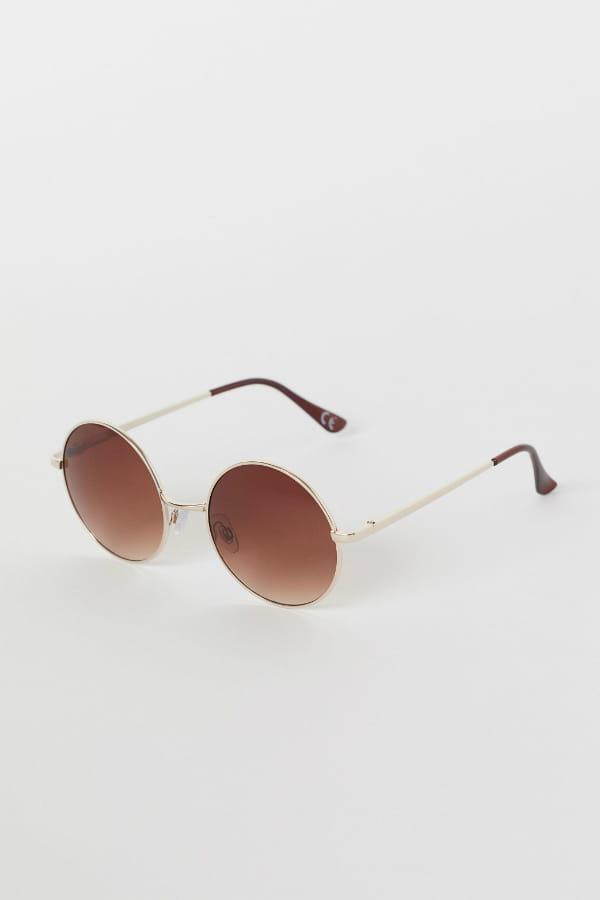 lunettes de soleil rondes de h m. Black Bedroom Furniture Sets. Home Design Ideas