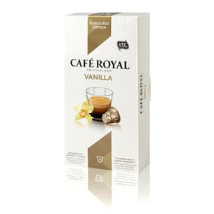 capsules flavoured edition vanilla de café royal