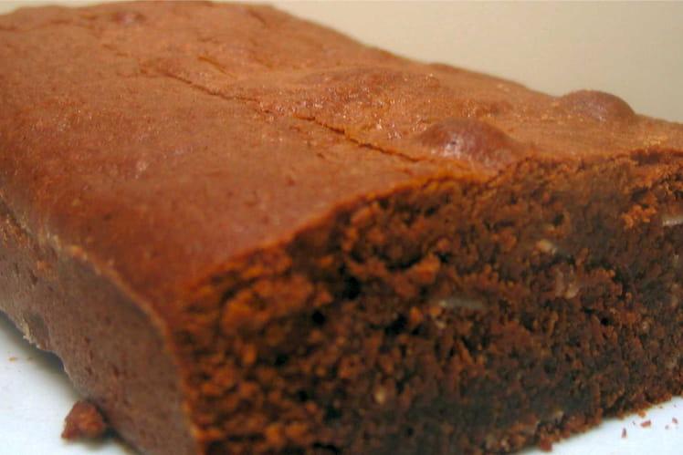 Brownies au chocolat et amandes effilées