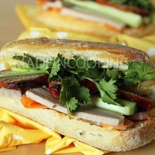 banh mi, sandwich vietnamien