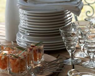 service de table 'auprès de mon table' de am / pm