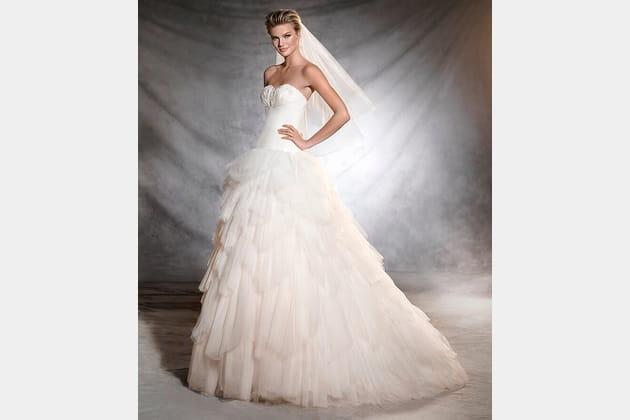 Robe de mariée Orfeon, Pronovias