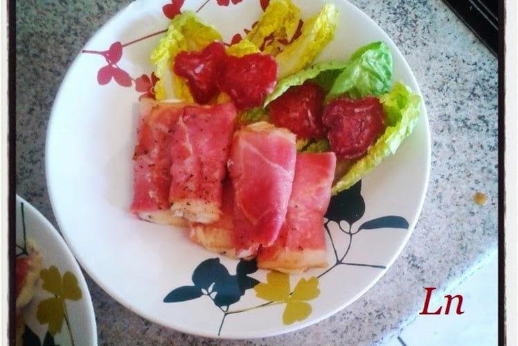 Involtinis de jambon cru à la mozzarella