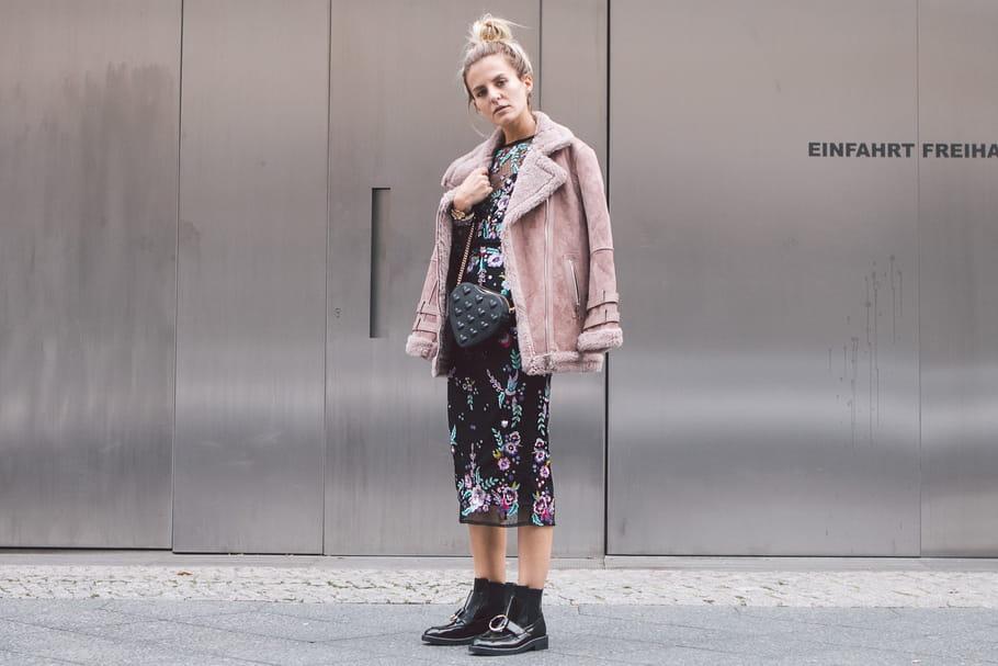 Le look blogueuse de la semaine: Marina the Moss, cousue de fines fleurs