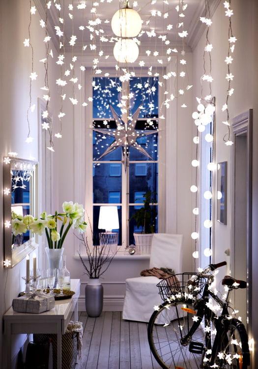 Une d co de no l magique avec ikea - Guirlande lumineuse interieur ikea ...