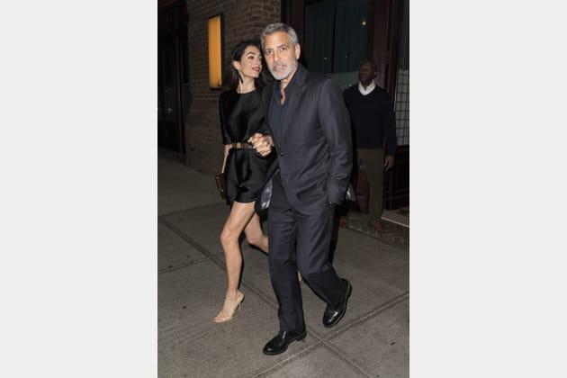 George Clooney fête ses 57ans en compagnie de son épouse, Amal