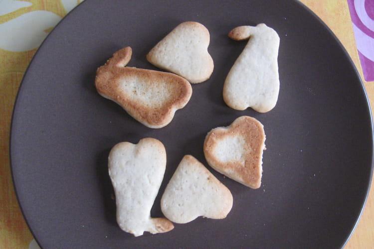 Biscuits fruités pour bébé
