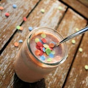 yaourts crémeux au pralin