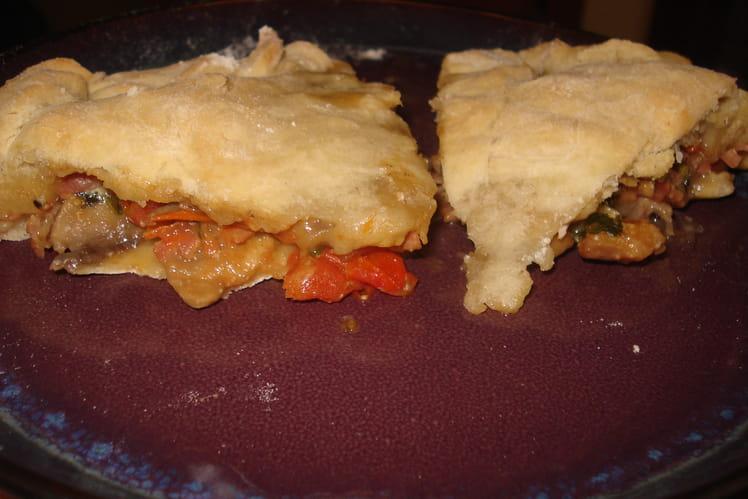 Pizza volantée (ou tarte de Pâques)