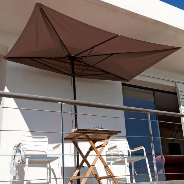 Parasol de balcon leroy merlin