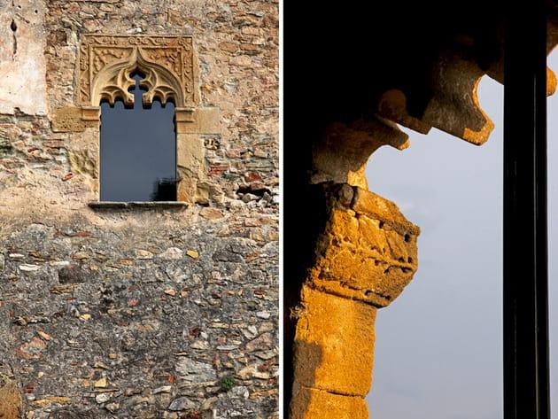 Fenêtres gothiques mauresques