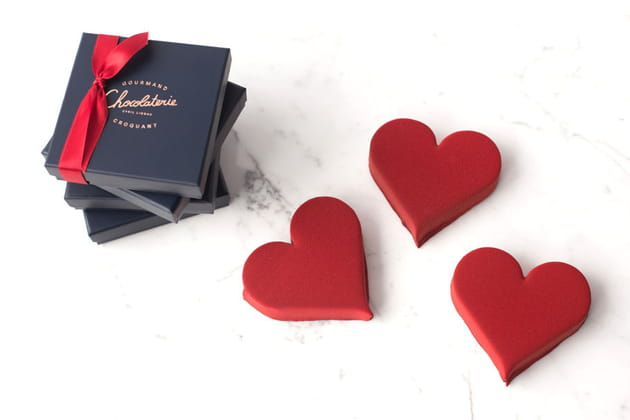 Coeur Guimauve de La Chocolaterie Cyril Lignac