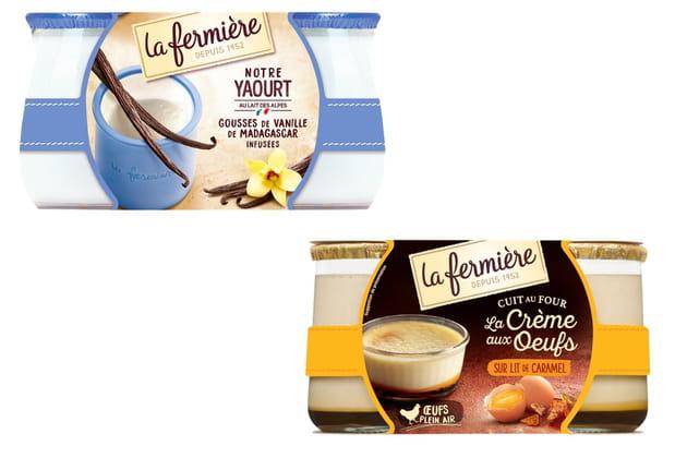 Les yaourts de La Fermière