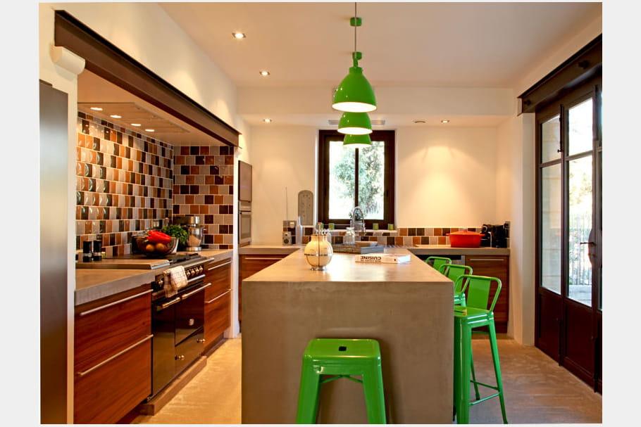 Une cuisine aux couleurs urbaines