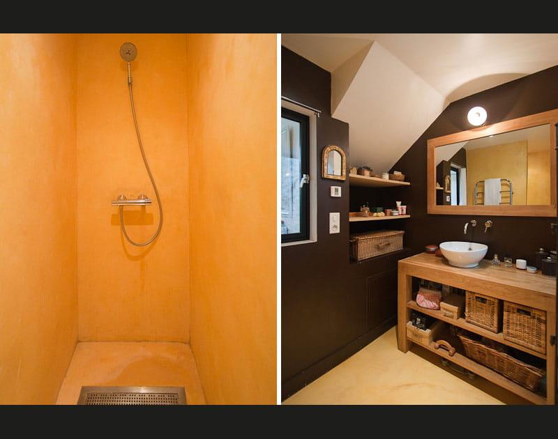 Une douche à l'italienne pour plus de confort