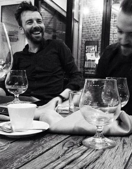 Eric Guérin et Florent Ladeyn, cheers