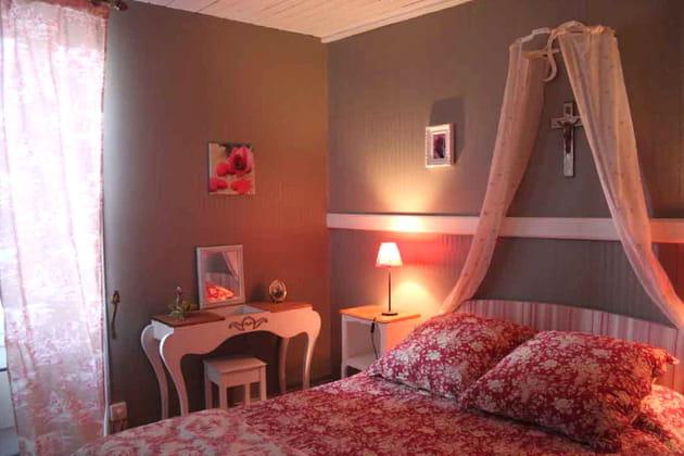 La chambre de Valérie, fleurie