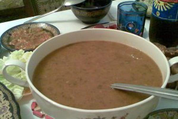 La hrira (soupe algérienne)