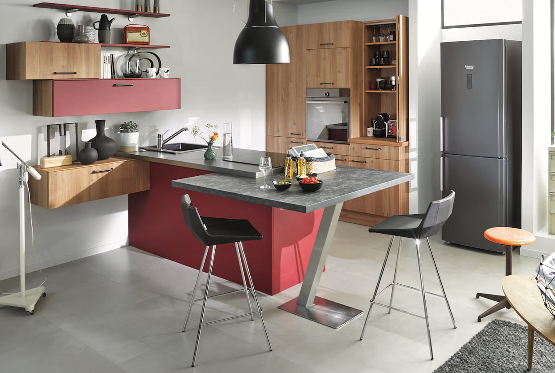 l 39 lot de cuisine contemporain. Black Bedroom Furniture Sets. Home Design Ideas