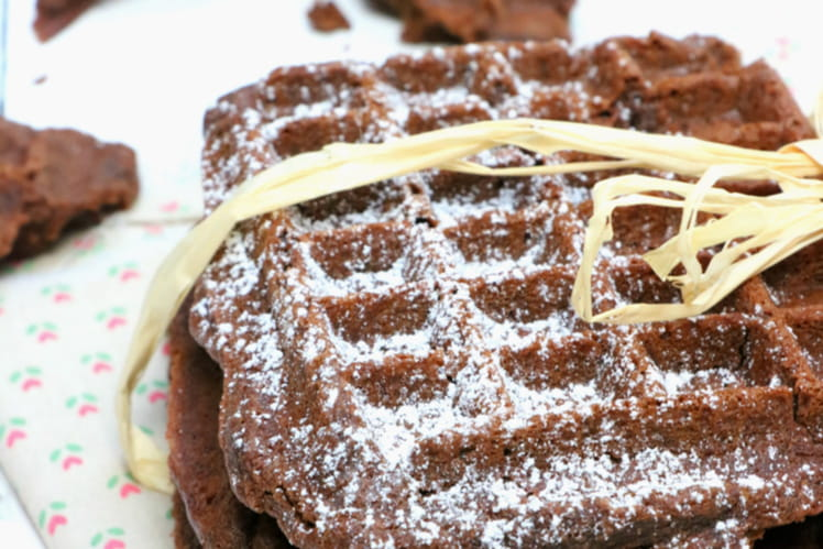 Gaufres brownies
