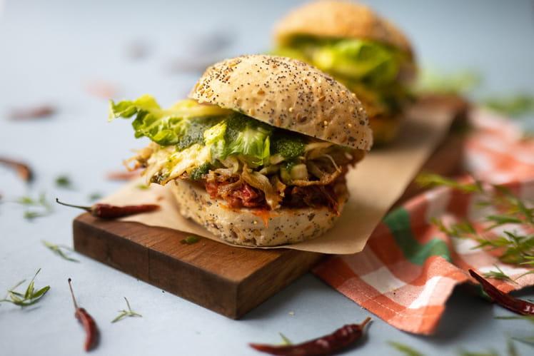 Burger à la panse de boeuf d'Adrien Cachot
