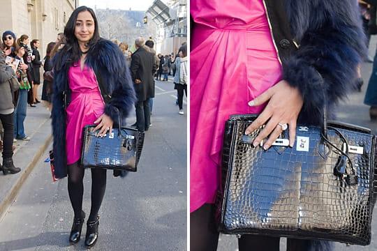 Fashion week : les street looks des défilés parisiens PAP automne-hiver 2011-2012 58