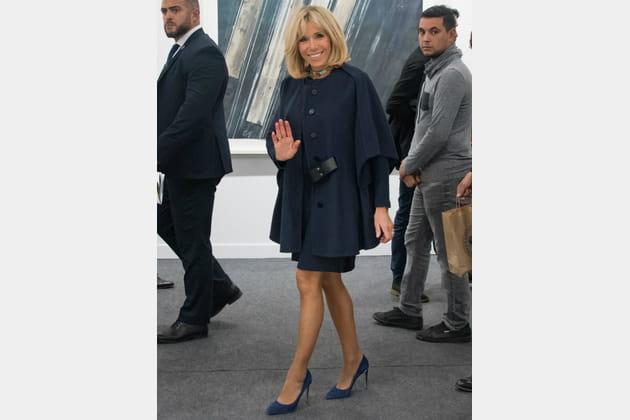 Brigitte Macron le 18octobre 2017