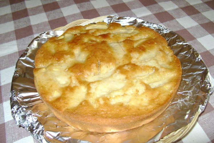 Gâteau aux pommes tradition