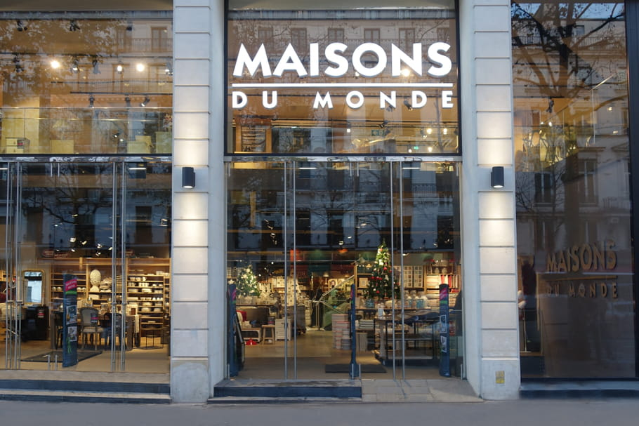 maisons du monde un nouveau magasin en plein c ur de paris. Black Bedroom Furniture Sets. Home Design Ideas