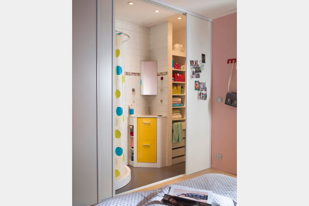 Meuble d 39 angle waneta par cooke lewis pour castorama for Cooke et lewis meuble salle de bain