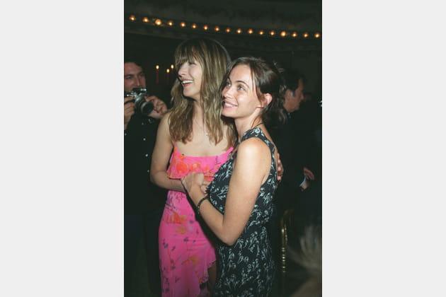 Avec Emmanuelle Béart au festival de Cabourg 2000