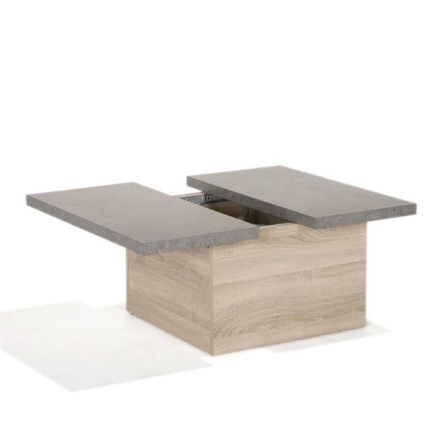 Une table basse effet béton