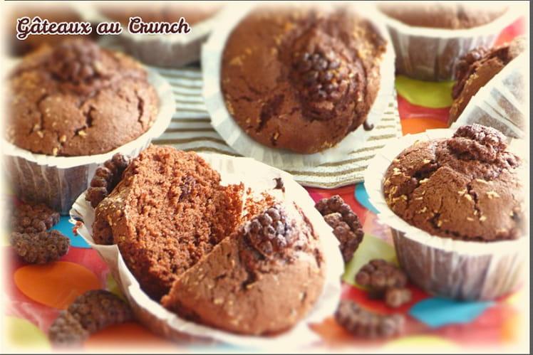 Muffins express au chocolat et céréales crunch