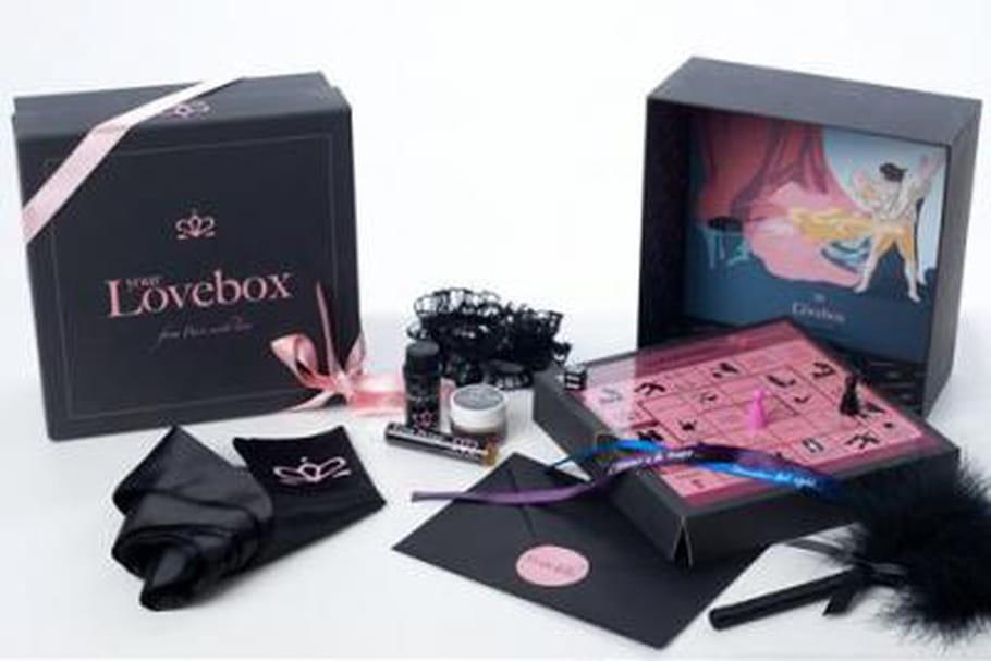 your lovebox un coffret 100 couple. Black Bedroom Furniture Sets. Home Design Ideas