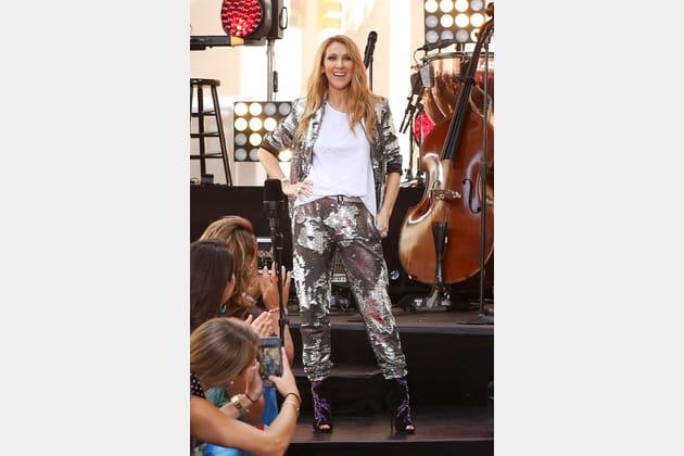 Céline Dion le 22juillet 2016