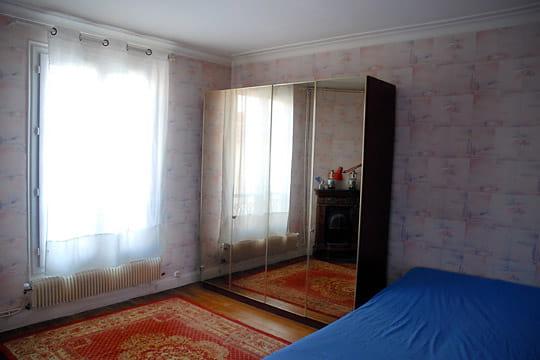 Une ancienne chambre sans charme
